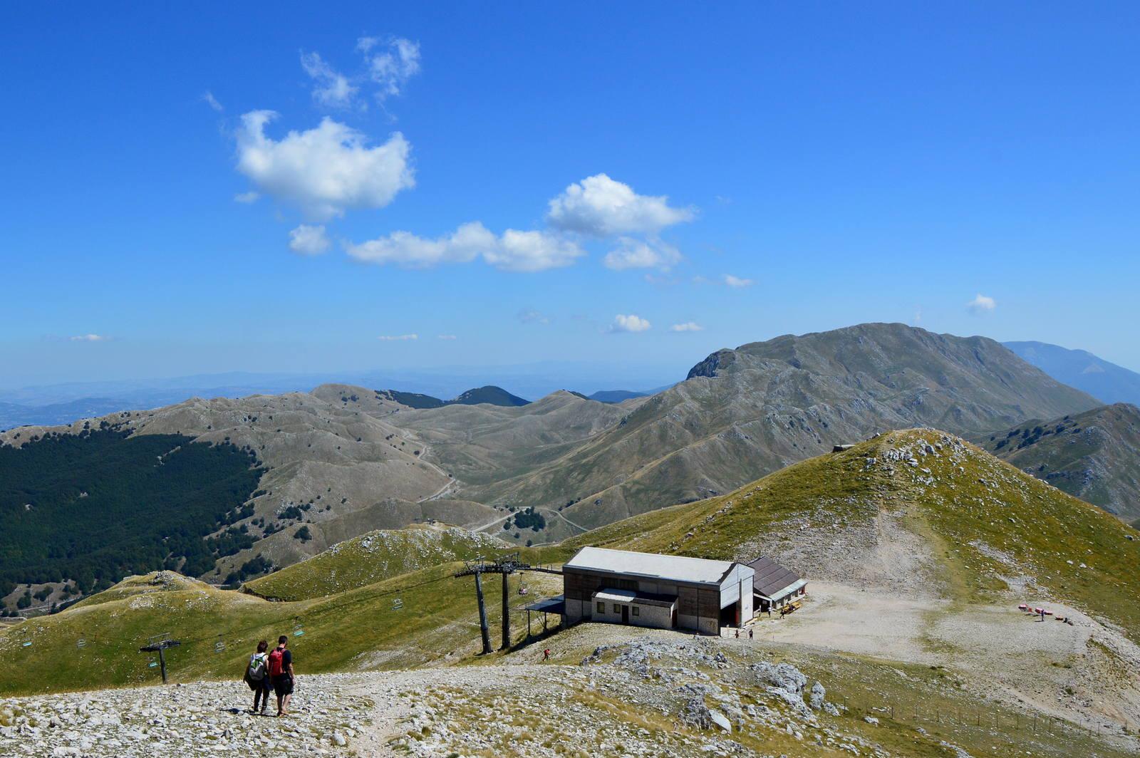 Colle del Caprio e monte La Gallinola